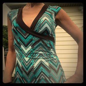 La belle asymmetrical dress